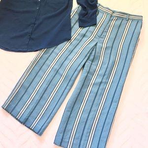 NWT Ann Taylor Petite Cropped Capri Pants Size 8P